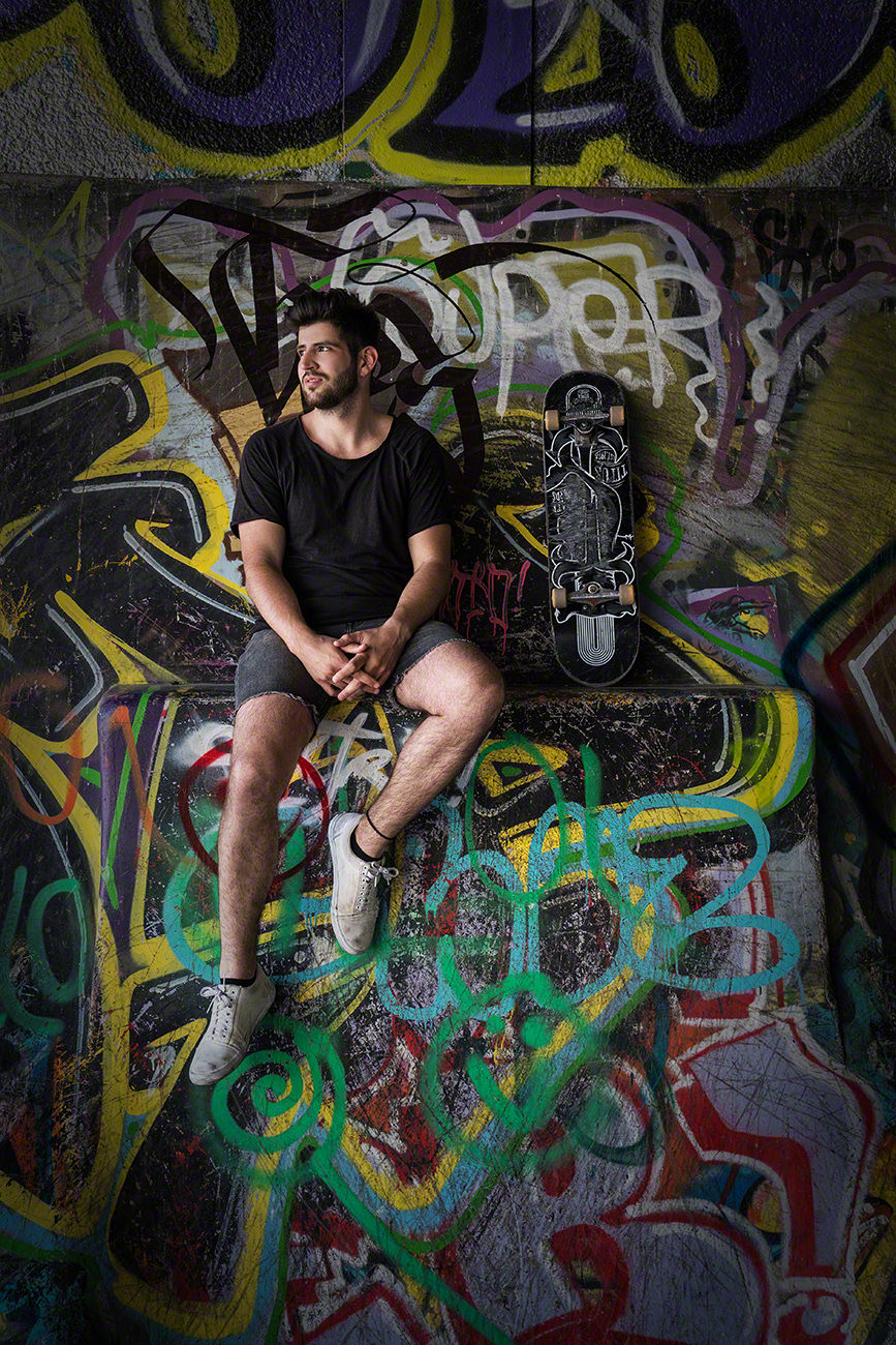 Fotoshooting Skater
