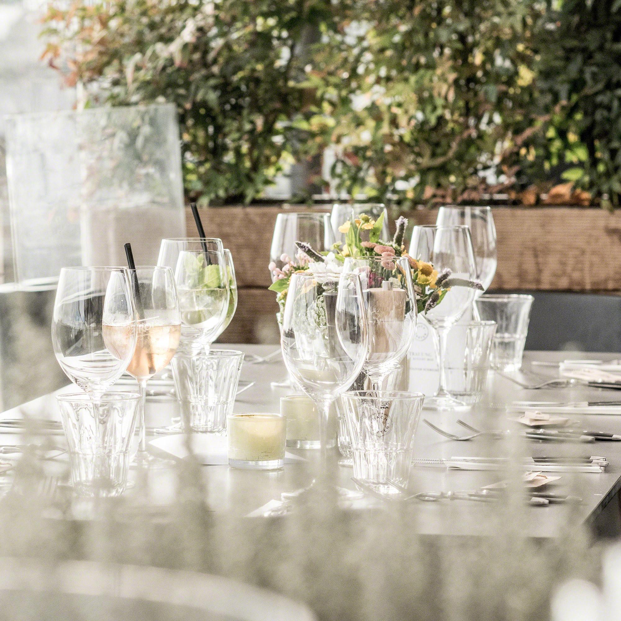 Hochzeitsreportage Tischdeko