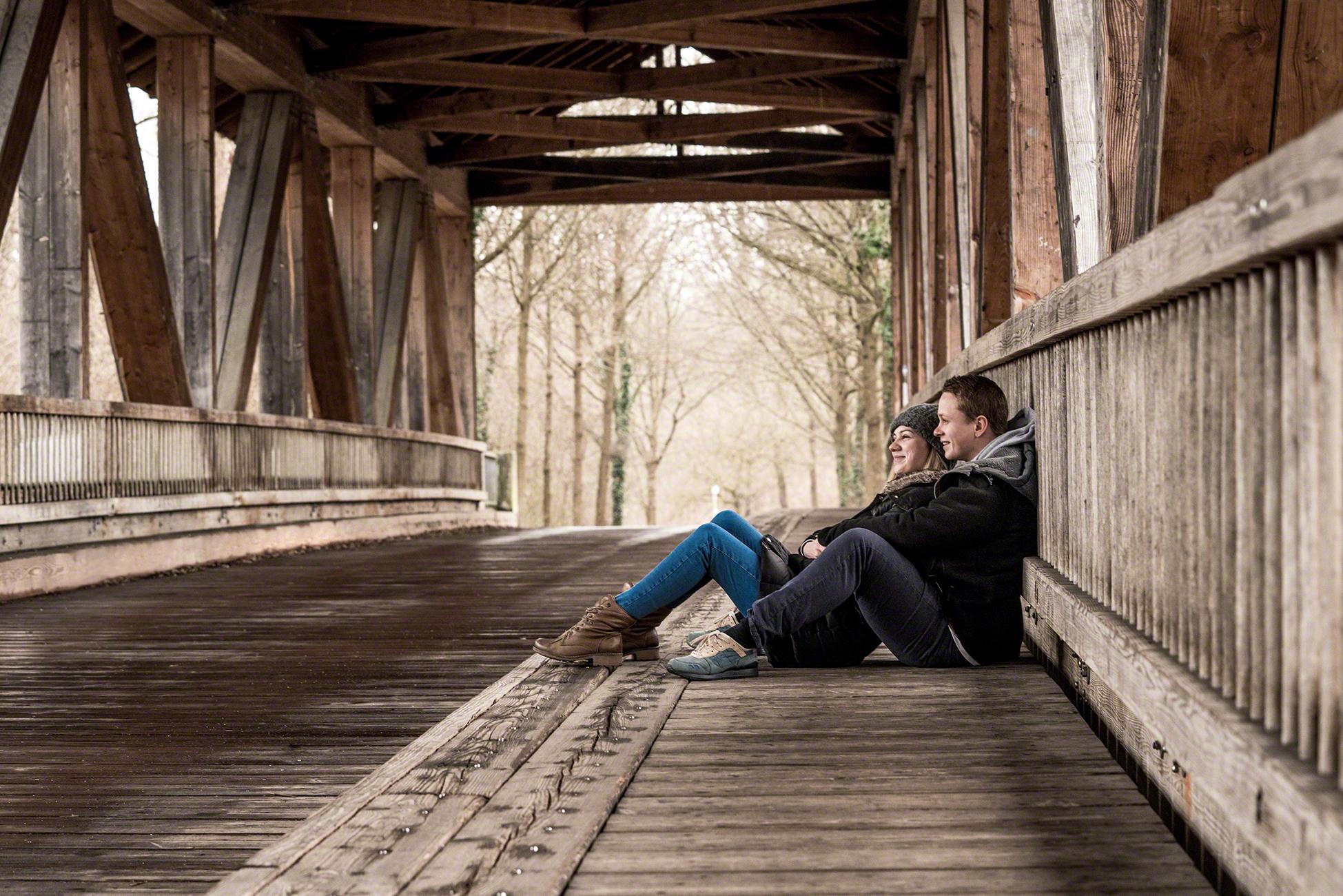 Paarshooting Brücke